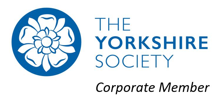 Corporate Member Logo GREAT YORKSHIRE SOCIETY